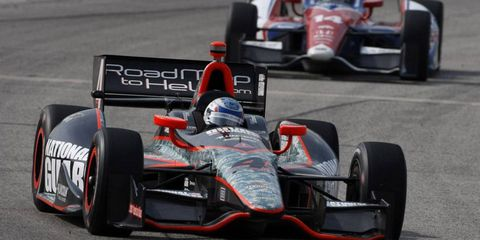 Ryan Briscoe, who not long ago wasn't sure where he'd be racing this season, finds himself in the position of driving in two series this weekend.