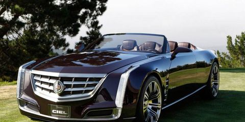 A car like the Ciel will not be in Cadillac's future but its styling elements are sure to continue to influence the brand's design