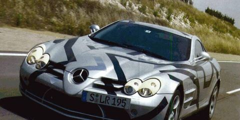 This week in 2003, we put the Mercedes-Benz SLR prototype through its paces