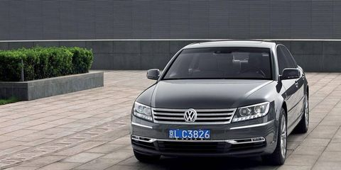 The Phaeton marched on in other markets like China after leaving North America in 2006.