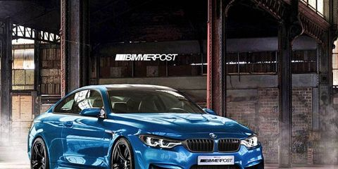 Here's a rendering, thanks to the crew from BimmerPost, of what the M4 could look like