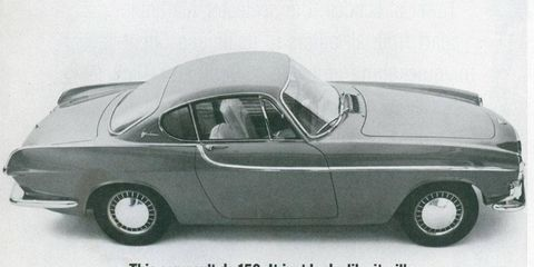 This car wasn't designed by Frua. We'll just insist that it was, totally shafting Pelle Petterson, until 2009.