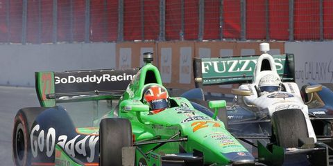 IndyCar's James Hinchcliffe had some choice words about the series' double header format.