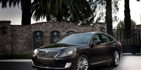 Hyundai officially revealed the 2014 Equus at the New York International Auto Show