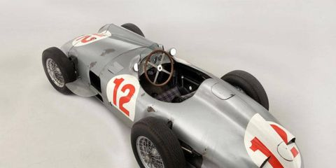 Still no word on who bought the ex-Fangio Mercedes-Benz W196, but there seems to be no shortage of extremely well-heeled classic car collectors.