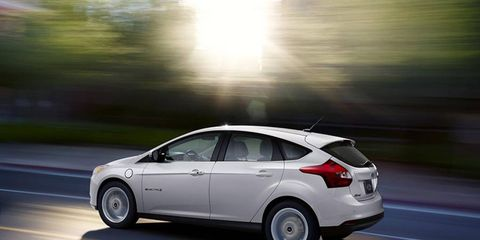 The Ford Focus Electric is now $4,000 cheaper for the 2014 model year