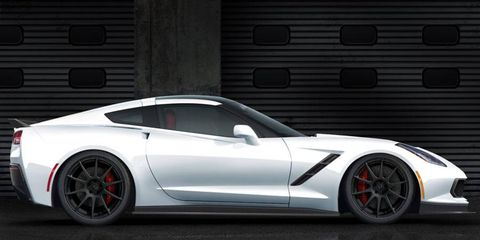 The Hennessey-powered Corvette Stingray comes out in October.