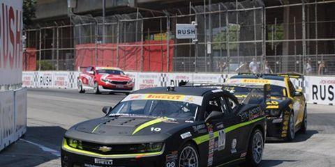Lawson Aschenbach took the GTS class win in Toronto in the Pirelli World Challenge.