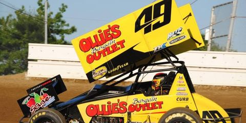 Brad Sweet had one of his best nights of racing ever when he competed at Eldora Speedway earlier this week.