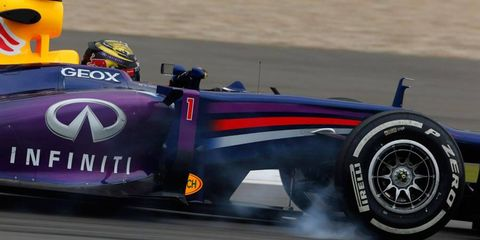 Red Bull Racing may schedule a private Formula One tire test with Pirelli this season.