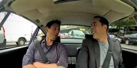 Comedians in Cars Getting Coffee: Seinfeld and Meyers take a ride in a Porsche 911 Carrera RS