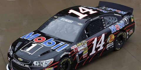 Tony Stewart enters this Sunday's Cup Series race at New Hampshire 10th in the points.