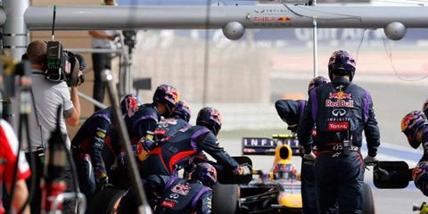 Under new FIA regulations, media will no longer be allowed in the Formula One pits during practices or races.