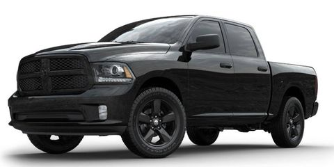 The Ram Black Express hits dealerships in July.