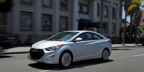 The Elantra helped Hyundai get the highest rating in TrueCar's recent mileage analysis among cars sold in the U.S.