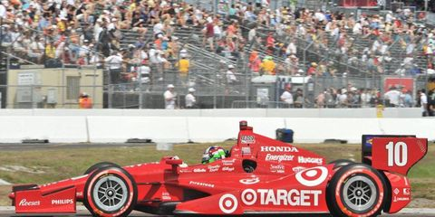 Dario Franchitti, seen here in 2012, was in cruise control for most of the 2007 IRL season