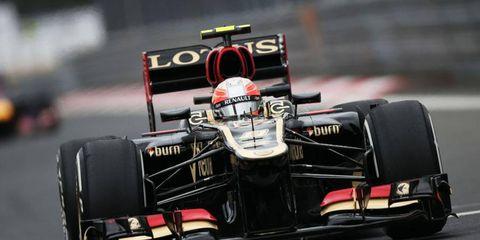 Romain Grosjean has two podium finishes so far in the 2013 Formula One season.