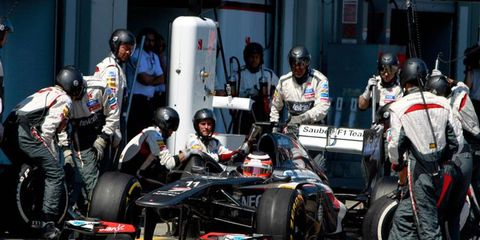 The Sauber F1 team is not guaranteed to finish the current Formula One racing season, according to its team principal.