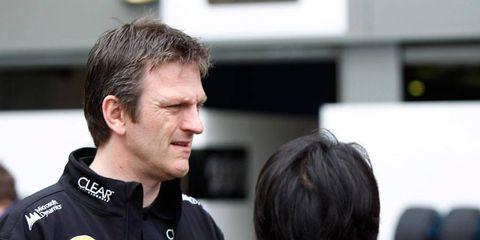 James Allison left Lotus earlier this season. He returns to Ferrari, where he worked from 2000-05