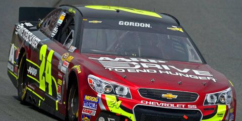 In the NASCAR Sprint Cup Series Chase were to start today, Jeff Gordon would be on the outside looking in.