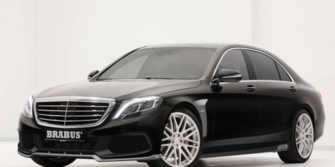 Brabus can also improve the suspension, exhaust and interior bits.