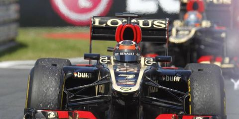 Kimi Räikkönen thinks that the heat in Hungary will help Lotus, although with constant changes to Pirelli's tires, it's hard to say if that's true.