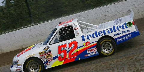 On Wednesday night, Ken Scharder became the oldest NASCAR driver in history to win a pole.