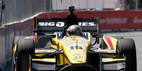 Graham Rahal is sitting 17th in the IndyCar Series points chase.