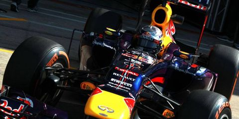 Sebastian Vettel is leading the Formula One standings as the series goes into Hungary this weekend.