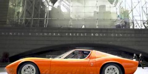 Even though Jerry Seinfeld is Porsche fan, he considers the Miura the most beautiful car ever built.