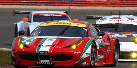 Kamui Kobayashi is driving sports cars for Ferrari this year while working to secure sponsorship for a 2014 Formula One bid.