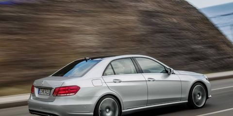 This is the US version of the 2014 Mercedes-Benz E-Class.