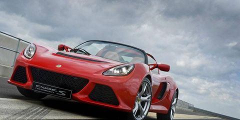 The Lotus Exige S Roadster was the company's first new product in the current era.