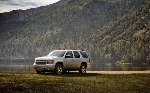 Got 8,000 lbs to tow around? The Tahoe can handle it with ease