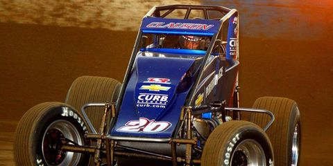 Bryan Clauson earned his first championship in the AMSOIL USAC National Sprint Car Series.