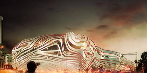 This is what they want to do to the Petersen Automotive Museum. What do you think?