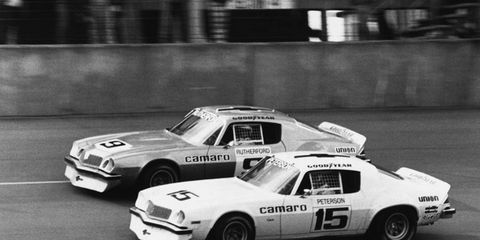 IROC featured winners Mark Martin, Dale Earnhart and Tony Stewart. Co-founder Barbara Signore died on Wednesday.