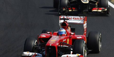 Red Bull confirmed that it has spoken to Fernando Alonso about joining its Formula One team.