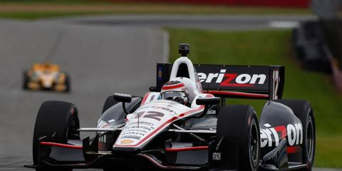 Will Power is the driver to beat in IndyCar qualifying after posting the best time in practice at Mid-Ohio on Friday.