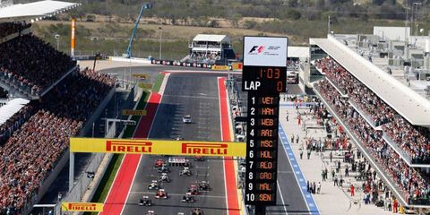 Texas Motor Speedway boss Eddie Gossage says rumors that IndyCar is considering coming to Circuit of the Americas are unfounded.