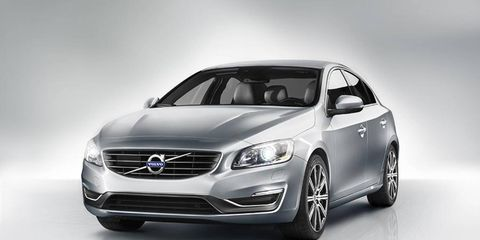 The S60 has been given a sleek new nose.