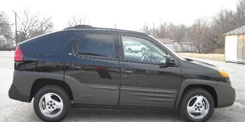 Now that every automaker makes a version of the Aztek, it's starting to look halfway decent.