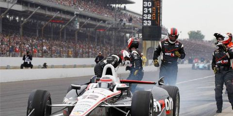 Will Power is one of the road-course masters in the Izod IndyCar Series. He would welcome a race on a road course in Indianapolis.