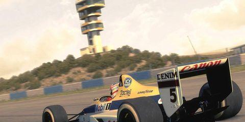 Screenshot from F1 2013