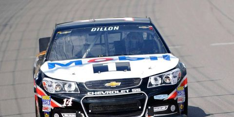 Austin Dillon drove the No. 14 at Michigan International Speedway to a 14th-place finish. He'll be back in the car subbing for Stewart at Talladega.