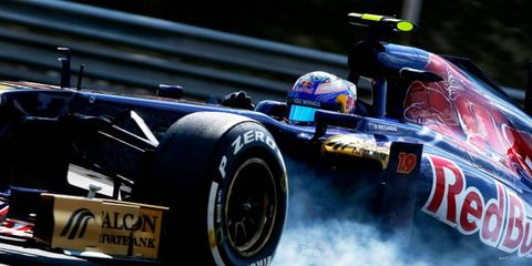 Daniel Ricciardo of Toro Rosso is said to be in line to make the move to Red Bull Racing in 2014.