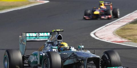 According to Red Bull Racing, Lewis Hamilton could be the driver to beat for the 2013 World Championship.