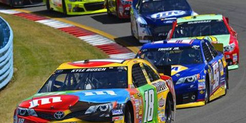 Kyle Busch is currently fifth in the NASCAR Sprint Cup standings as he prepares for a Chase run