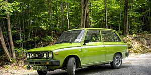 The Volvo 66 came out in 1975, just as the company bought out DAF.