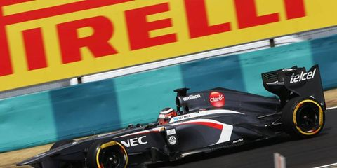 The deal that was to help bring Sauber our of financial troubles may be in jeopardy. Pirelli is reportedly one of the creditors owed payment by Sauber.